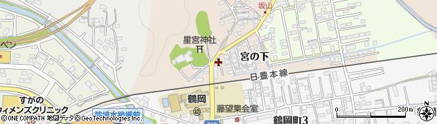 大分県佐伯市鶴望2382周辺の地図