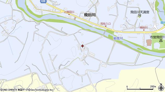 大分県竹田市飛田川1335周辺の地図