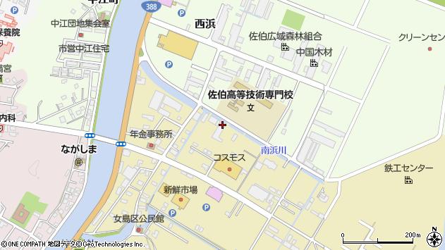 大分県佐伯市8952周辺の地図