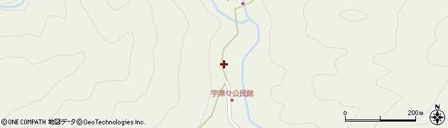 大分県佐伯市本匠大字宇津々750周辺の地図