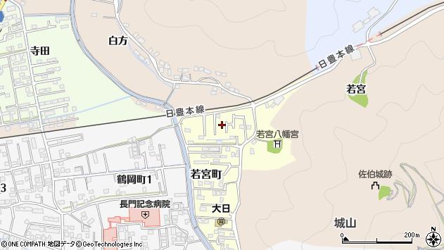 大分県佐伯市若宮町4周辺の地図