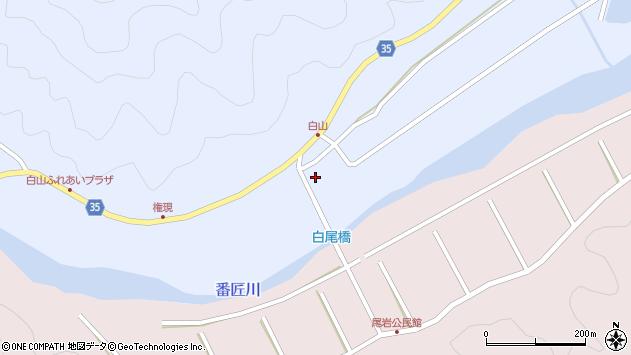 大分県佐伯市弥生大字山梨子292周辺の地図