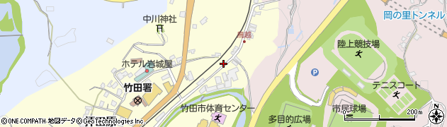 大分県竹田市拝田原190周辺の地図