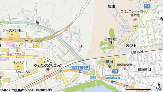 大分県佐伯市鶴望1405周辺の地図