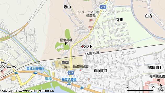 大分県佐伯市鶴望2388周辺の地図