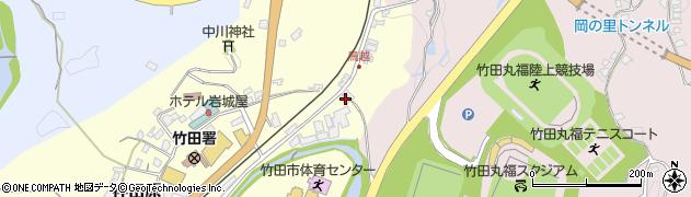 大分県竹田市拝田原176周辺の地図