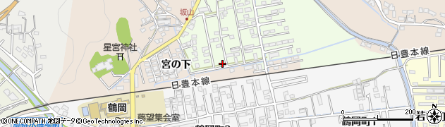 大分県佐伯市鶴望2585周辺の地図
