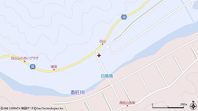 大分県佐伯市弥生大字山梨子296周辺の地図