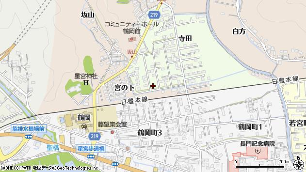 大分県佐伯市鶴望2581周辺の地図