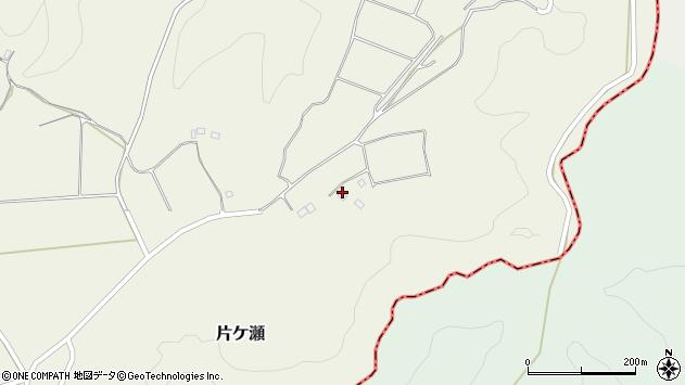 大分県竹田市片ケ瀬617周辺の地図