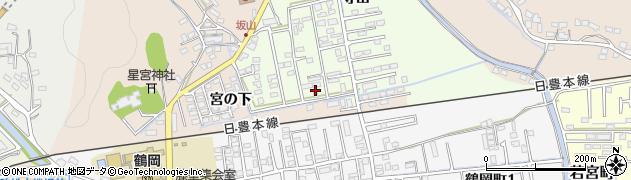 大分県佐伯市鶴望2587周辺の地図