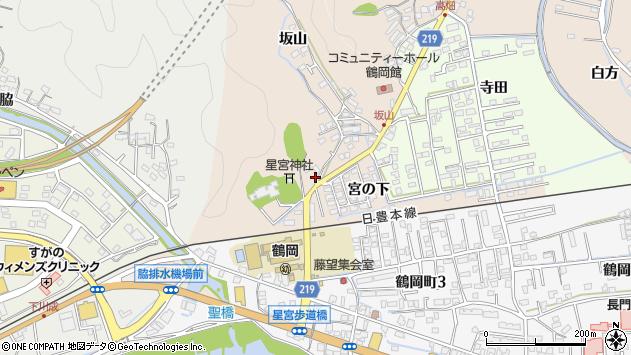 大分県佐伯市鶴望2420周辺の地図