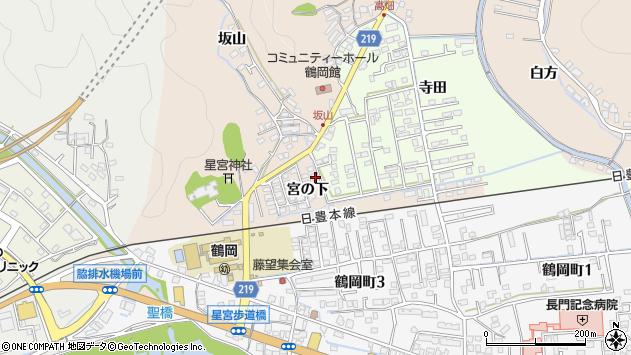 大分県佐伯市鶴望2401周辺の地図