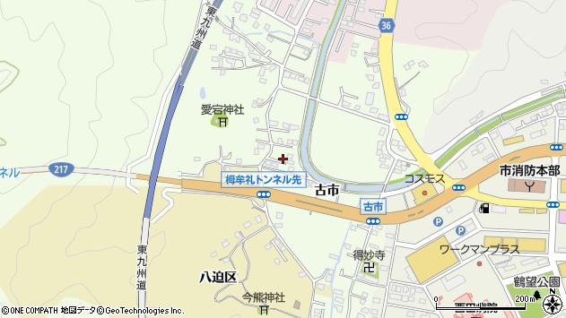大分県佐伯市稲垣237周辺の地図