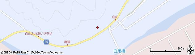 大分県佐伯市弥生大字山梨子263周辺の地図