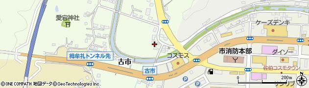 大分県佐伯市稲垣455周辺の地図