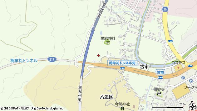 大分県佐伯市上岡2121周辺の地図