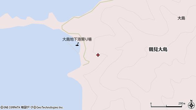 大分県佐伯市鶴見大字大島地下周辺の地図
