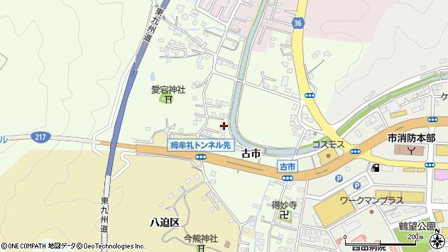 大分県佐伯市稲垣236周辺の地図