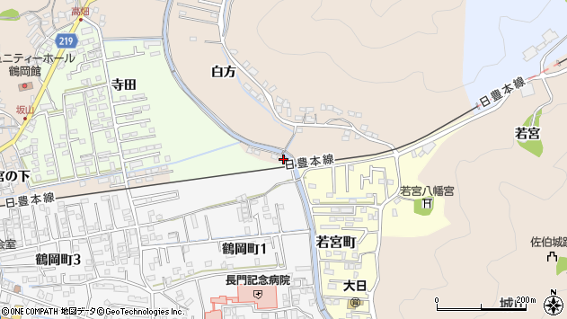 大分県佐伯市鶴望3763周辺の地図