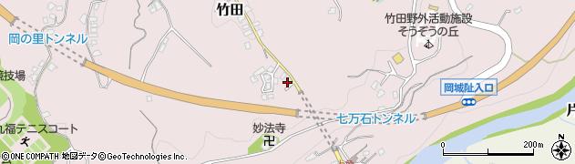 大分県竹田市竹田2446周辺の地図