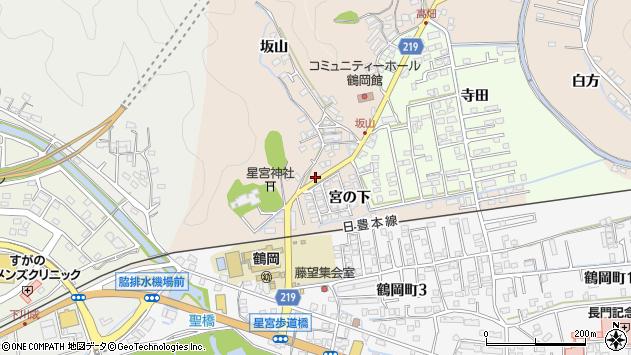 大分県佐伯市鶴望2418周辺の地図