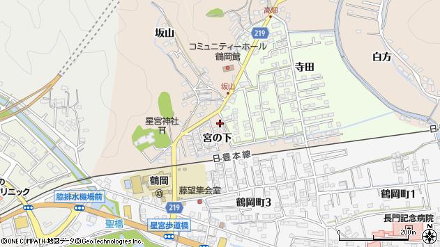 大分県佐伯市鶴望2402周辺の地図