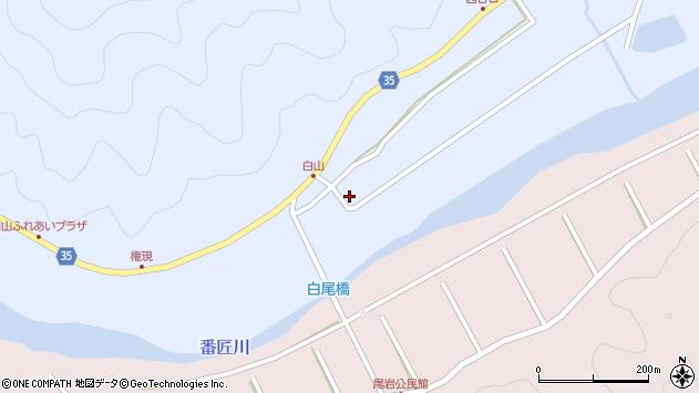 大分県佐伯市弥生大字山梨子314周辺の地図