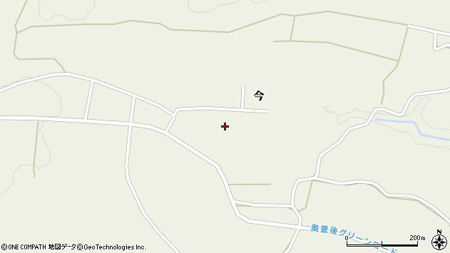 大分県竹田市今366周辺の地図