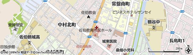 大分県佐伯市中村東町6周辺の地図