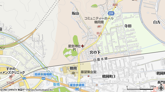 大分県佐伯市鶴望2434周辺の地図