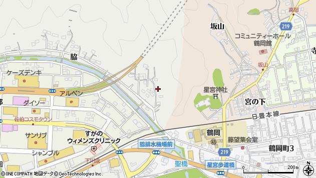 大分県佐伯市鶴望1380周辺の地図