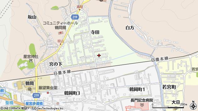 大分県佐伯市鶴望2301周辺の地図