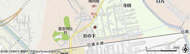大分県佐伯市鶴望2566周辺の地図