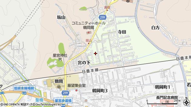 大分県佐伯市鶴望2572周辺の地図