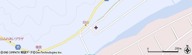 大分県佐伯市弥生大字山梨子312周辺の地図