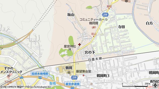 大分県佐伯市鶴望2435周辺の地図