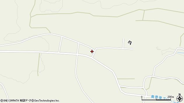 大分県竹田市今614周辺の地図