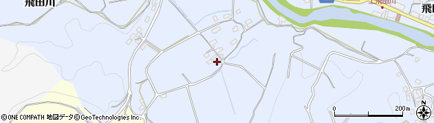 大分県竹田市飛田川927周辺の地図