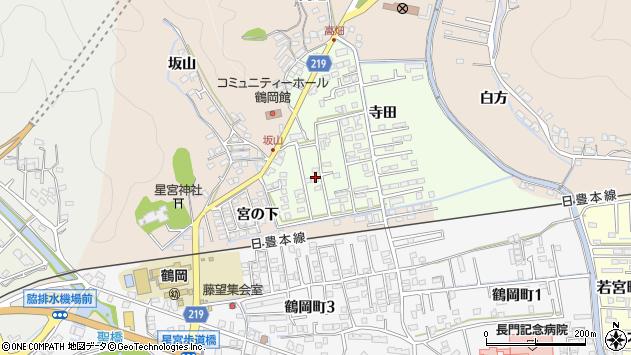 大分県佐伯市鶴望2571周辺の地図