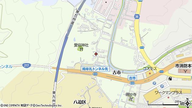 大分県佐伯市稲垣228周辺の地図