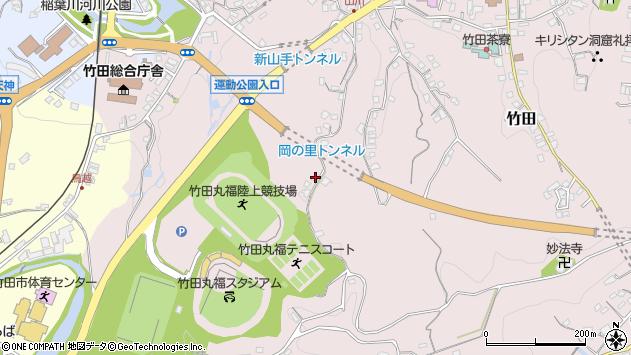 大分県竹田市竹田1464周辺の地図