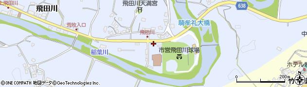 大分県竹田市飛田川2246周辺の地図