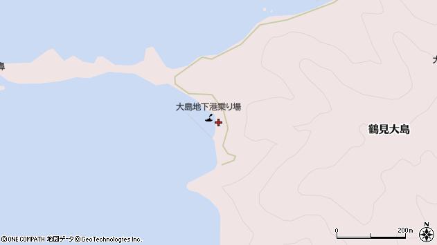 大分県佐伯市鶴見大字大島312周辺の地図