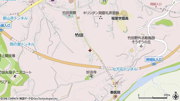 大分県竹田市竹田2442周辺の地図