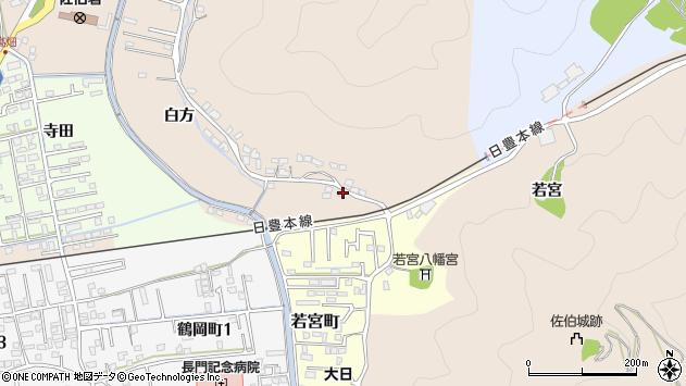 大分県佐伯市鶴望3872周辺の地図