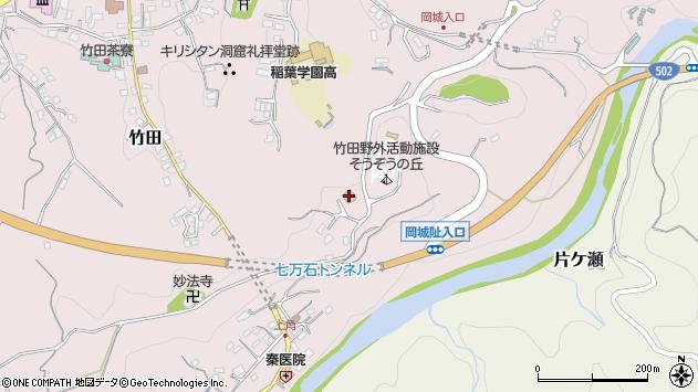 大分県竹田市竹田584周辺の地図