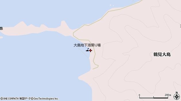大分県佐伯市鶴見大字大島315周辺の地図