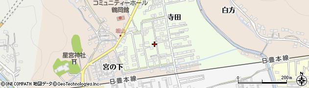 大分県佐伯市鶴望2598周辺の地図
