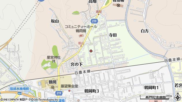 大分県佐伯市鶴望2563周辺の地図